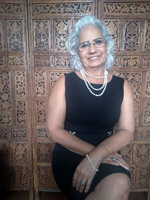 Psicoterapeuta Madalena Souza Borges